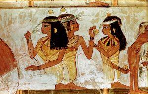 Los perfumes en la civilización egipcia. WERNER FORMAN / GTRES - Historia de la limpieza