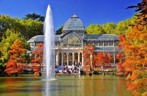 Parque del Retiro - Palacio de Cristal