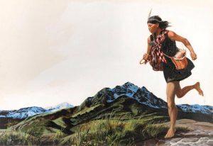 Historia de la Comunicación a larga distancia - Los painanis, el correo del Imperio Azteca