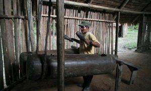 El lenguaje tamborileado del pueblo Bora con su Tambor Maguaré