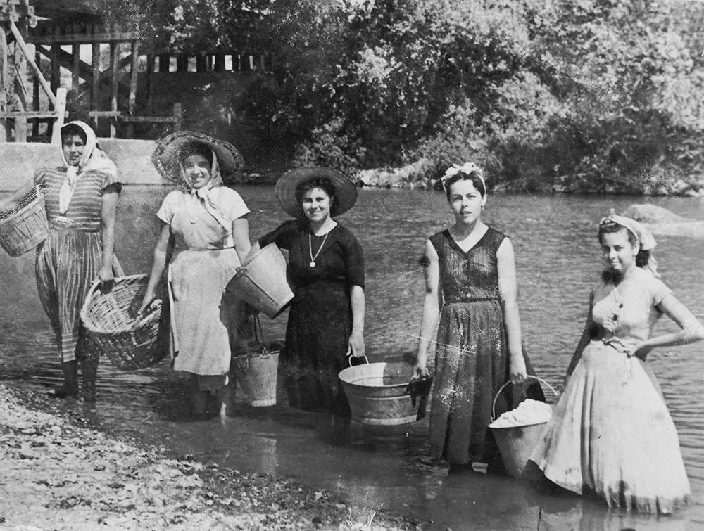 Profesiones antiguas: lavanderas