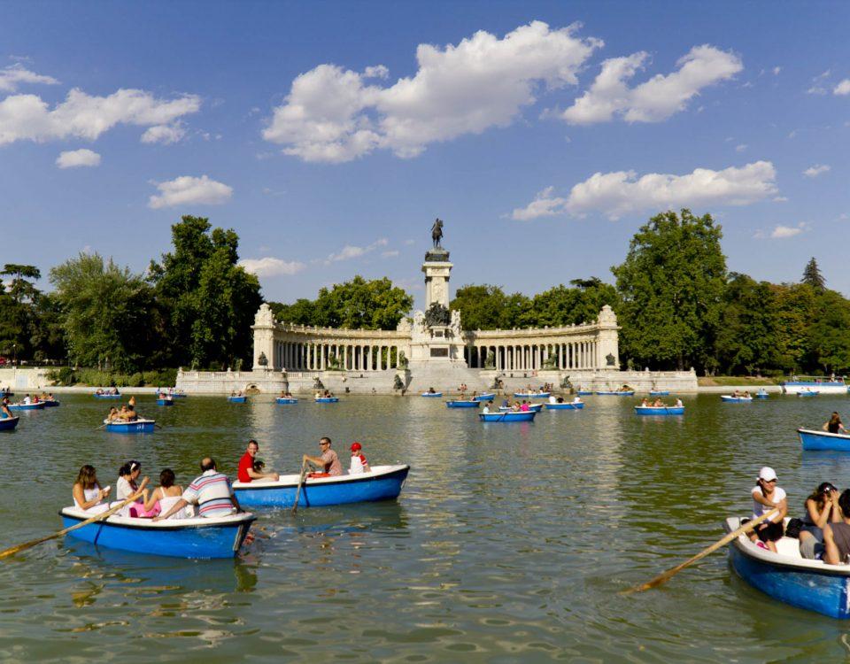 Parque del Retiro - Estanque en la actualidad