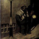 Escenas madrileñas. La soledad del sereno, por Sancha (Blanco y Negro, 1904).