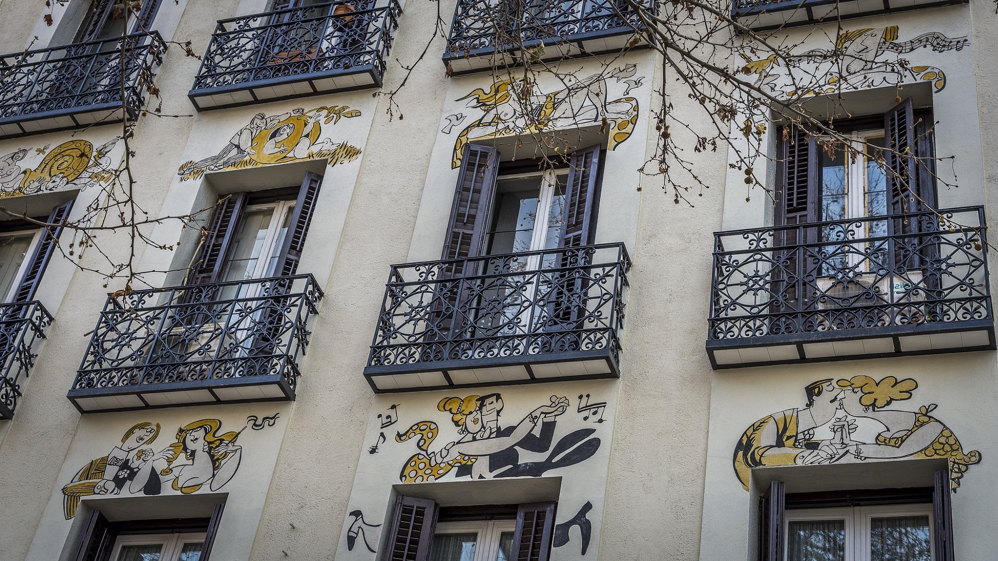 Madrid dibujado. Buscando a Mingote por la ciudad