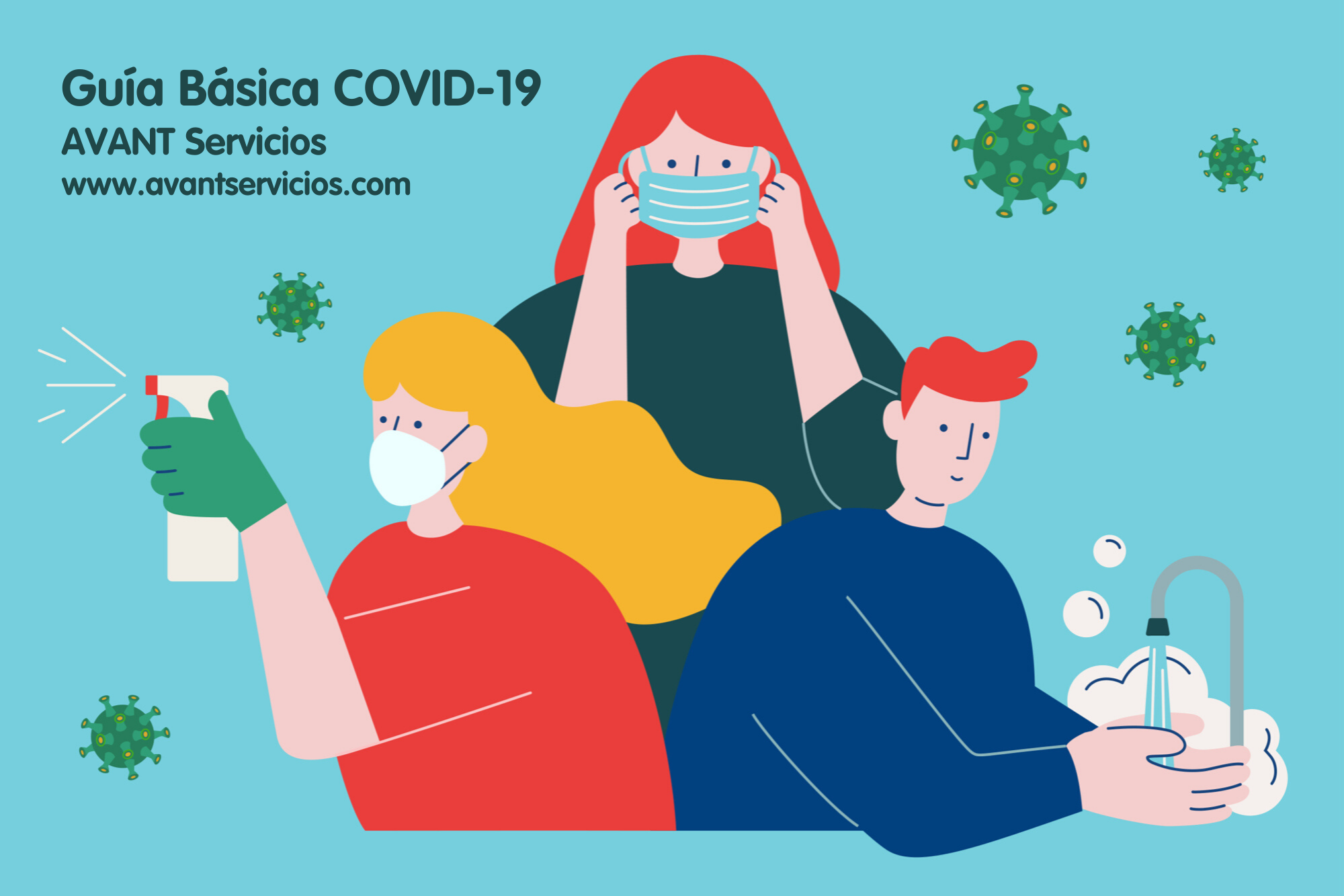 En AVANT Servicios, estamos contigo frente al coronavirus