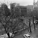 Plaza de Olavide tras la demolición Año 1976